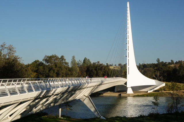 Sundial Bridge at Turtle Bay in Redding, CA