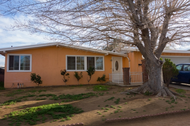 My old home on E Ave R4 in Palmdale, California