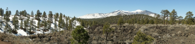 Sunset Crater in Northern Ariziona