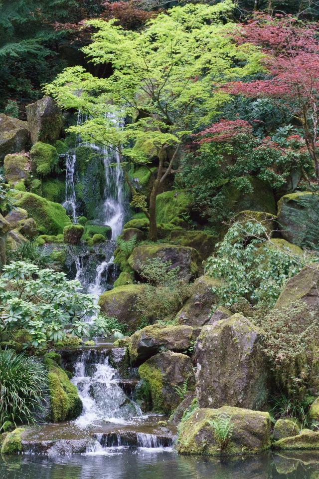 Japanese Garden in Portland, Oregon