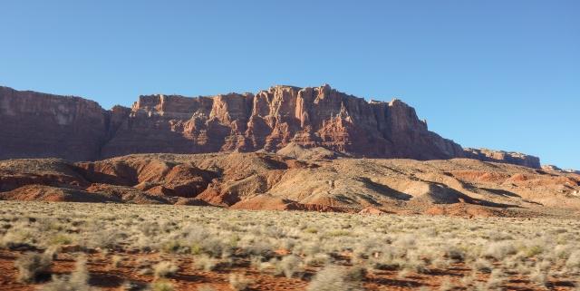 Vermillion Cliffs in Northern Arizona