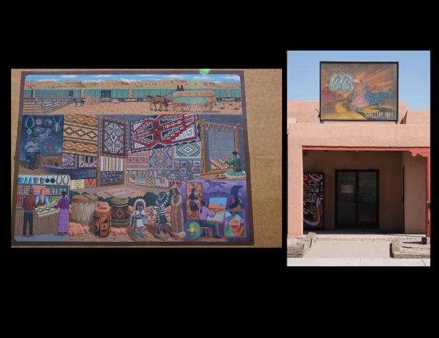Murals in Gallup, New Mexico