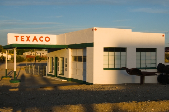 Texaco station in Needles