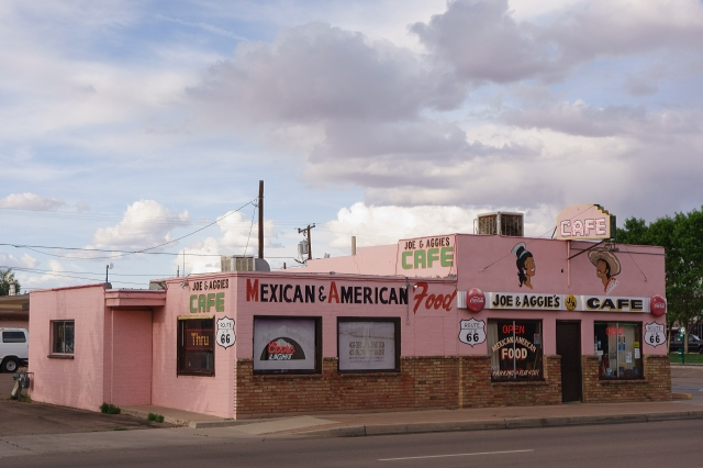 Joe and Aggie's cafe in Holbrook, Arizona