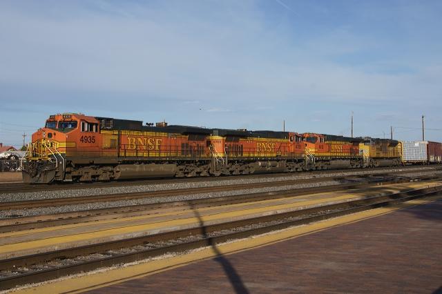 BNSF at La Posada