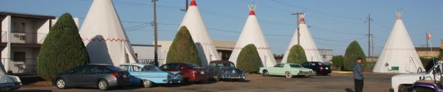 Wigwam motel banner photo