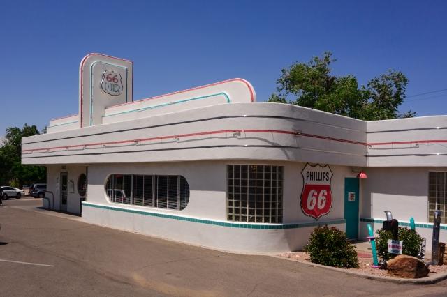Albuquerque Route 66 Diner exterior