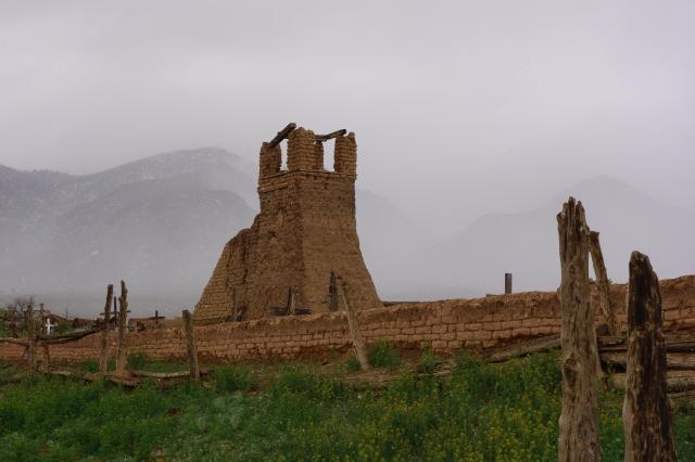 A ruin at the Taos pueblo