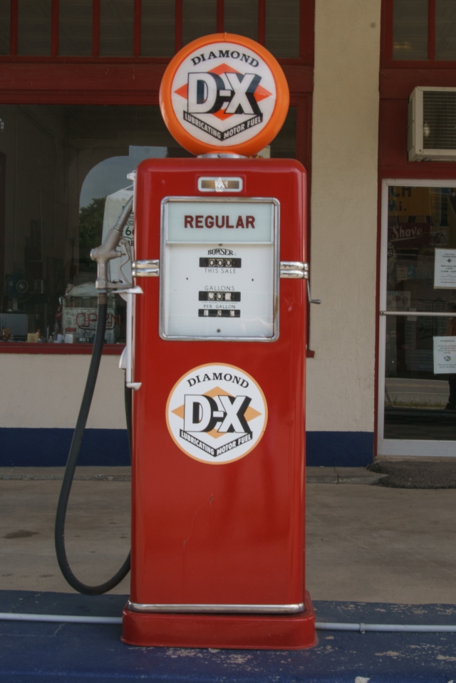 Afton Station gas pump