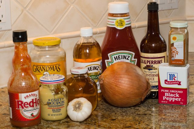 Best ever barbecue sauce ingredients.