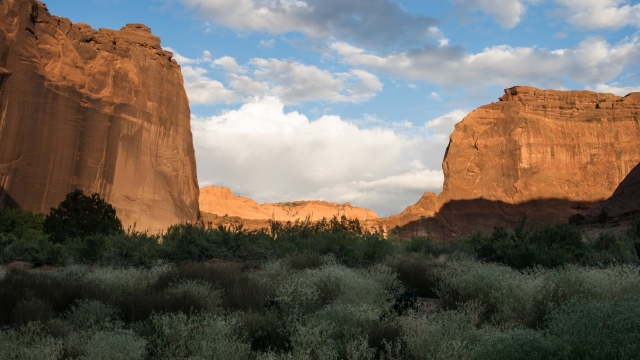 Sunset at Canyon De Chelly