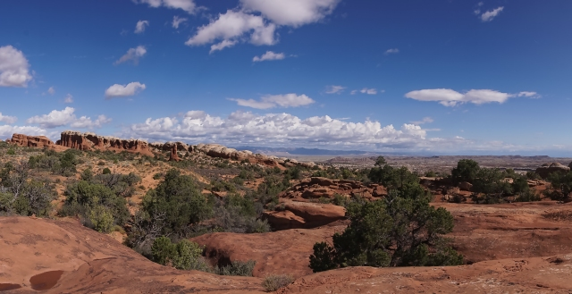 View from Broken Arch - Arches National Park