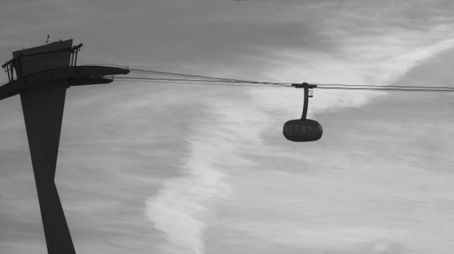 Portland aerial tram banner photo