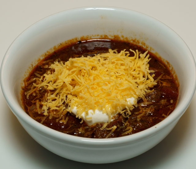 Dinner is served - El Cid Chili
