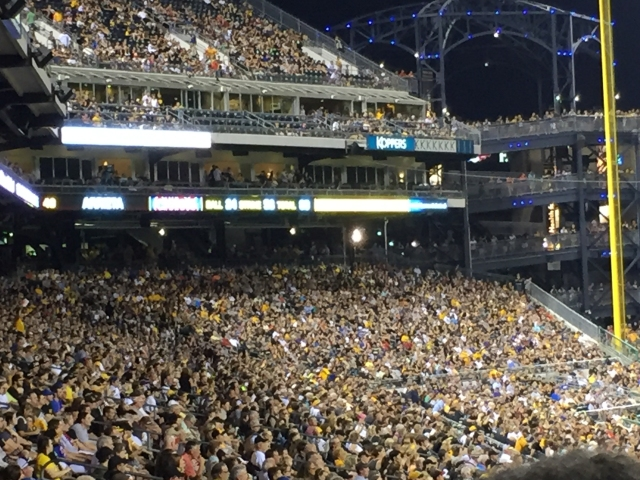 Packed PNC Park - Pittsburgh, PA