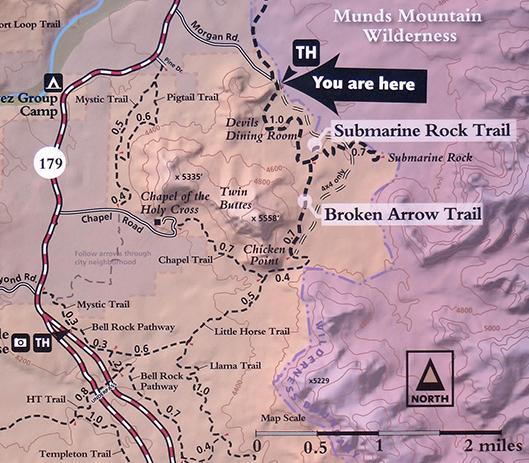 Broken Arrow Trail overview