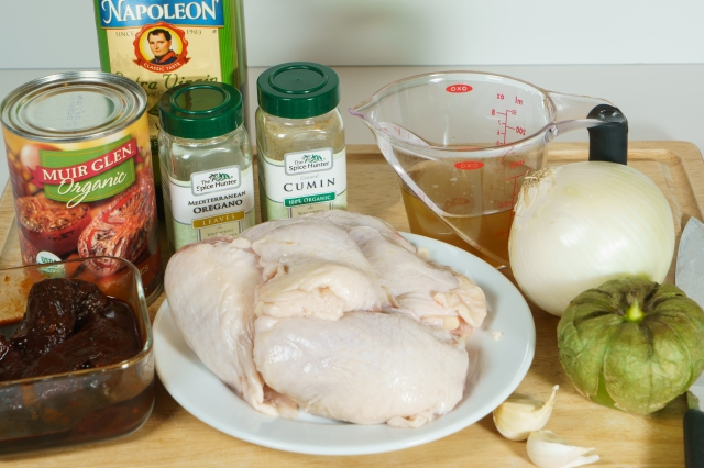 Chicken Tinga ingredients