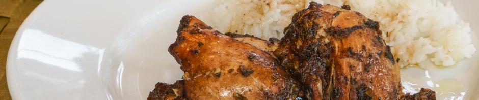 Pressure Cooker Balsamic Chicken Thighs banner photo