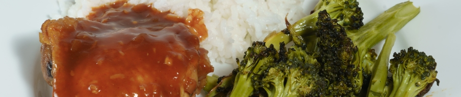 Korean-style chicken thighs banner photo