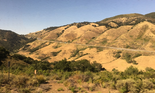 A different view of US 101 through central California near Paso Robles
