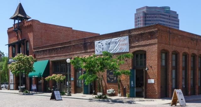 Early Los Angeles building near Olivera Street