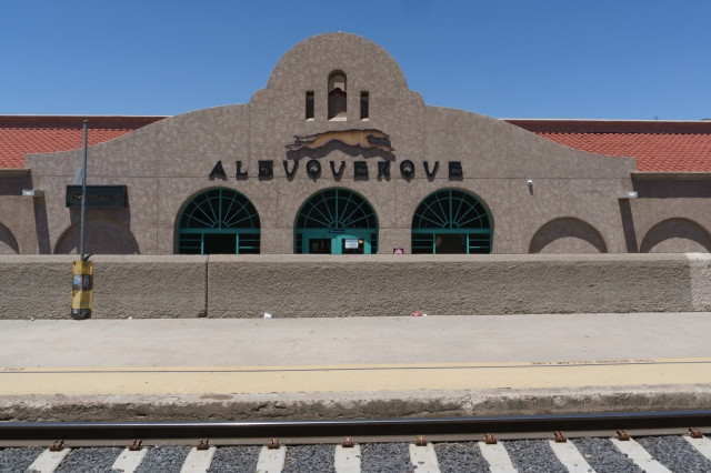 Albuquerque, New Mexico. After this we turn north from the BNSF Transon