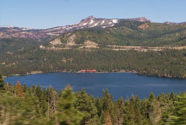 Donner Lake - Sierra-Nevada Mountains