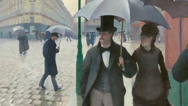 Paris Street Rainy Day 1877