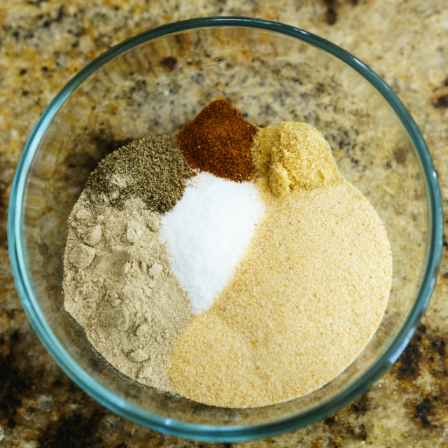 Santa Maria Rub ingredients