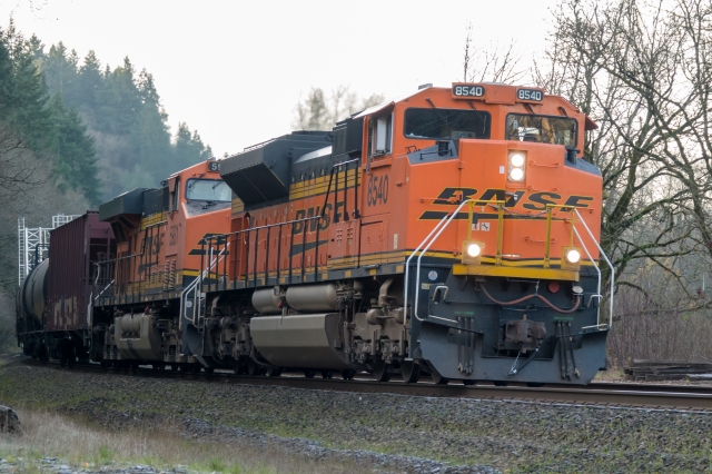 After LR auto tone adjustment. BNSF at Ridgefield Washington