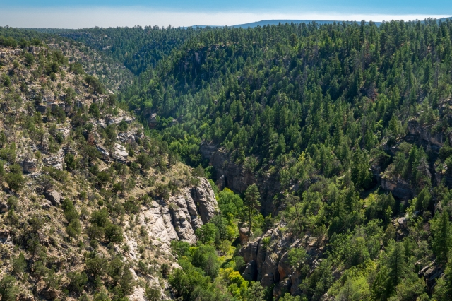 Oak Canyon National Monument from the Visitor Center