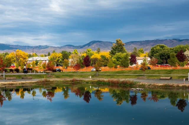 Fall has come to Boise