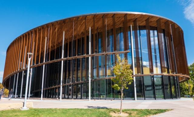 The Cruzen-Murray Library. College of Idaho